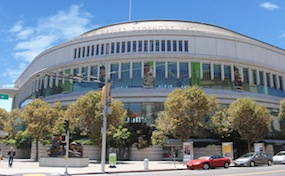 The Louise M. Davies Symphony Hall, commonly called Davies Symphony Hall, is a concert hall located in the downtown of San Francisco, California. The Davies Symphony Hall belongs to the San Francisco War Memorial and Performing Arts Center.